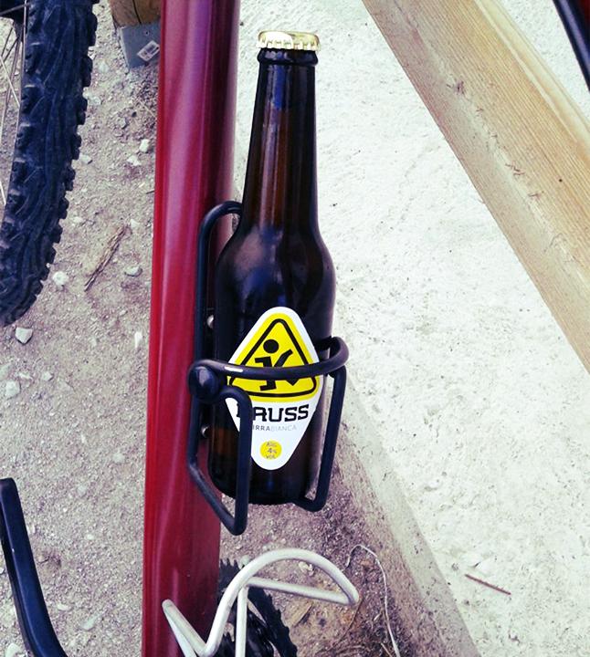 Kauss in bicicletta